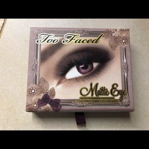 Too faced shadow palette, new